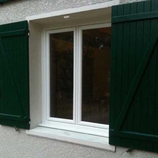 Pose de fenêtre en pvc à Martignas