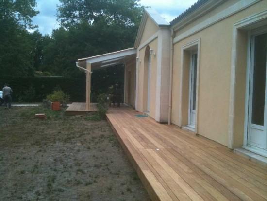 Pose de terrasse en bois à Draguignan