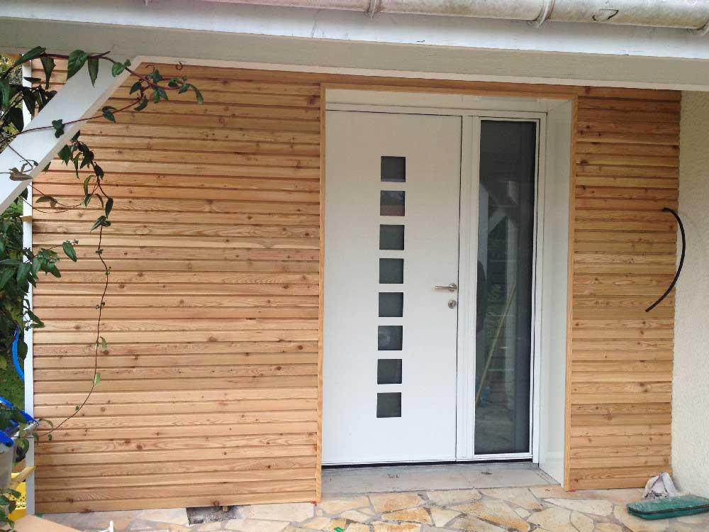 Pose de porte d'entrée à Mérignac(33)